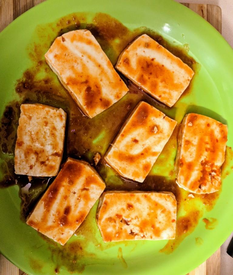 Grilled paneer 2