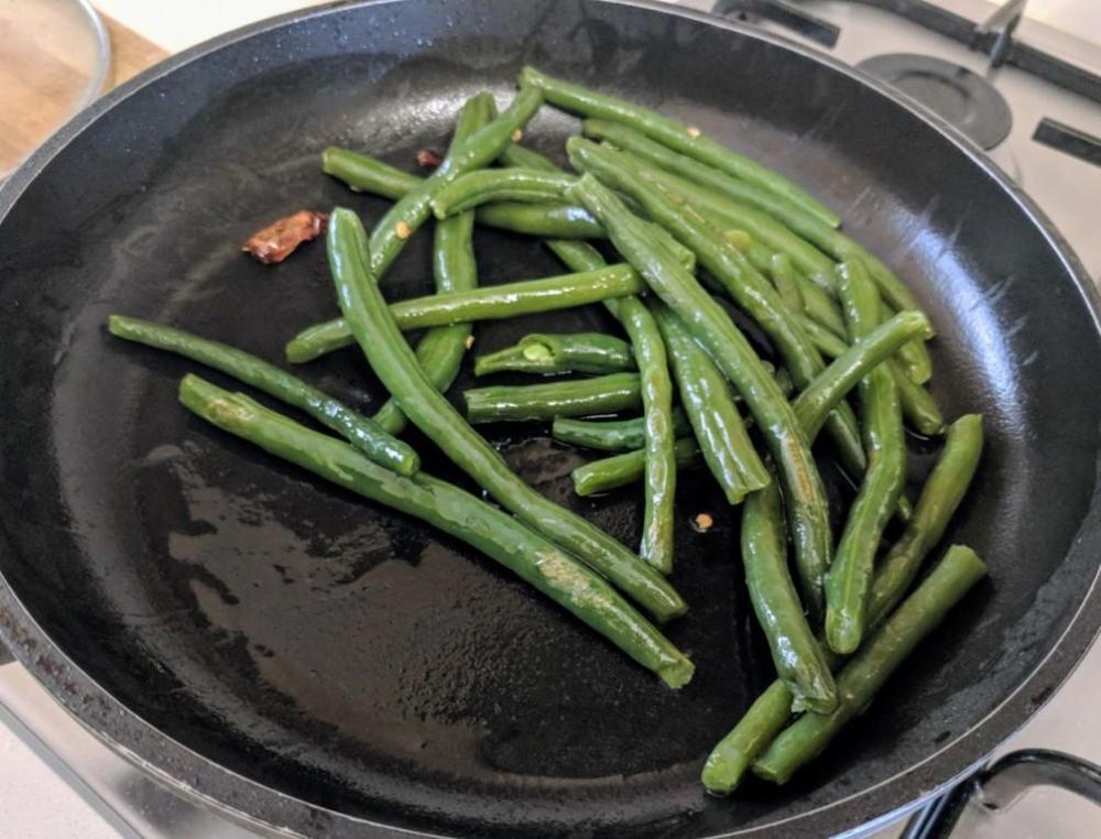 Beans stir fry 3
