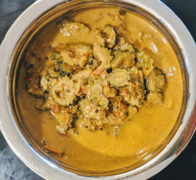 Bitter gourd curry 10