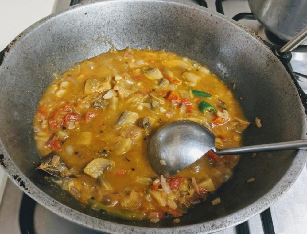 Mushroom masala 5