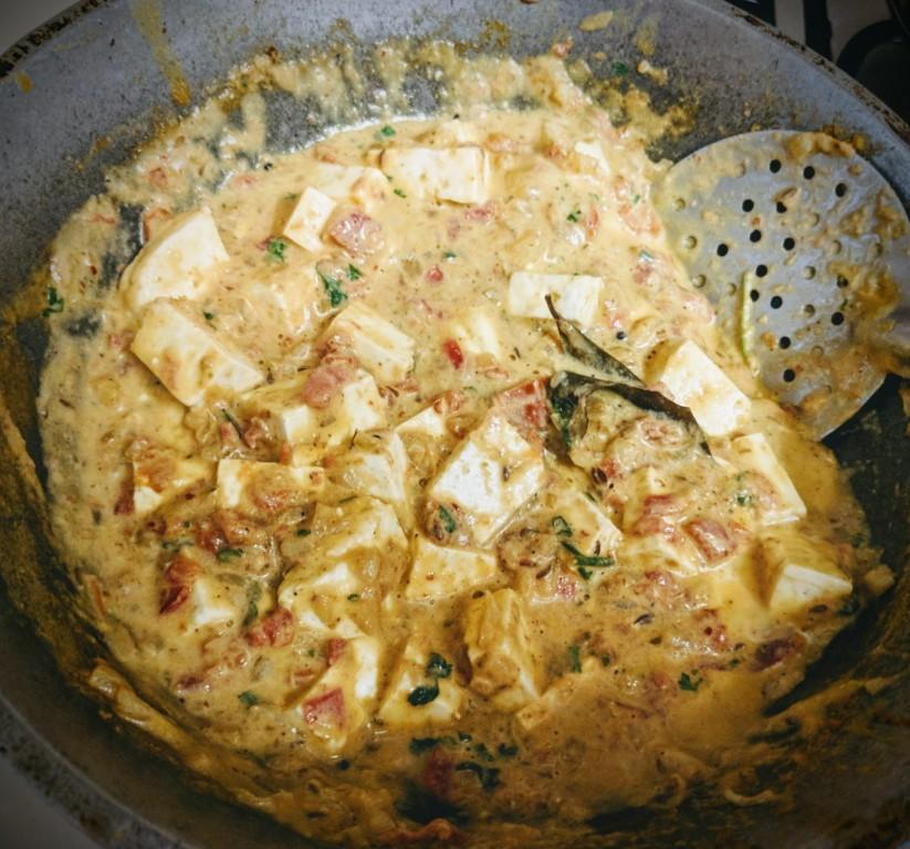 Paneer curry 6