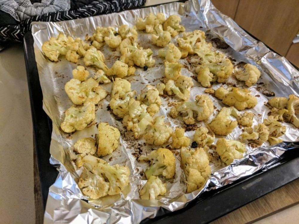 Roast cauliflower 3