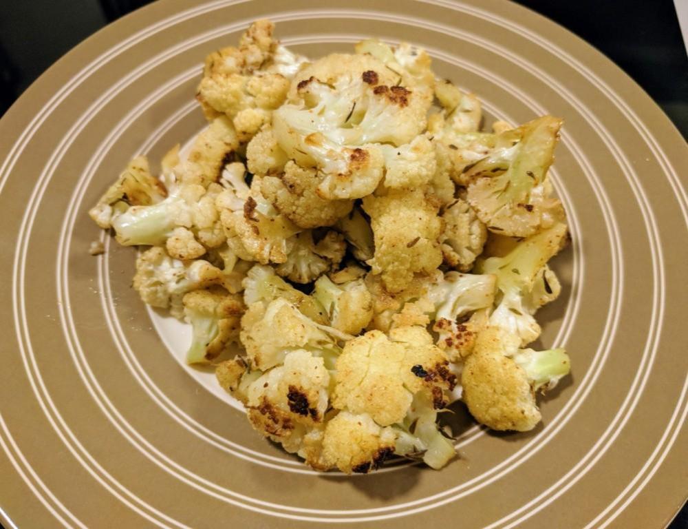 Roast cauliflower 5