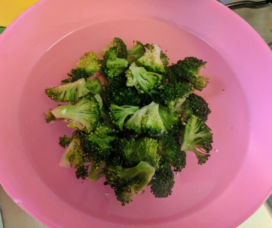 Bok choy, broccoli & mushroom 2